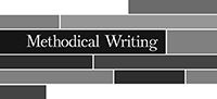 Methodical Writing Blog